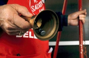 The Salvation Army's Red Kettle fund-raiser pays for holiday assistance programs, as well as those offered year-round. (Photo courtesy Salvation Army)