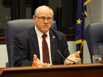 John Coghill State of the State response