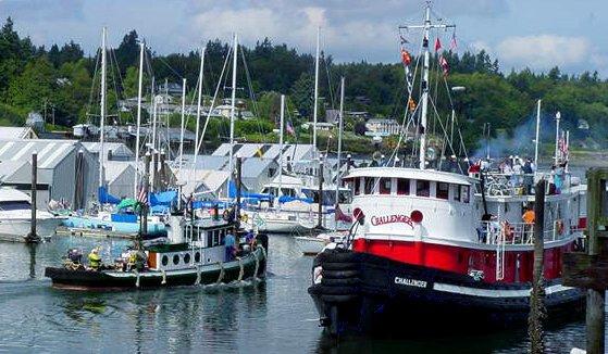 Former tugboat owners eulogize Challenger: 'She lived up to