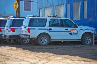 North Slope Borough Police SUVs cars
