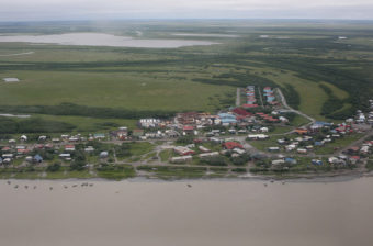 Emmonak in July 2013. (Photo by Adam DuBrowa/FEMA)