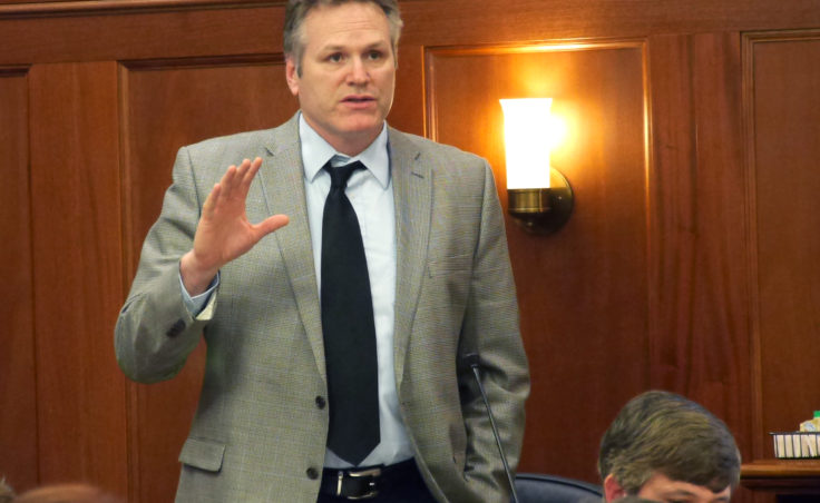 Sen. Mike Dunleavy, March 14, 2016