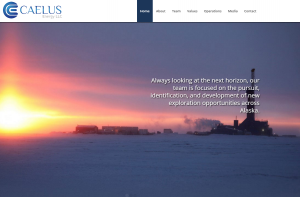 "Caelus Energy Alaska announced Friday, April 8 that it would cut its workforce by 25 percent in response to low oil prices and ""uncertainty in Alaska's oil tax system."" (Website screenshot April 9, 2016)"
