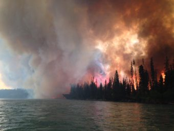 Funny River Fire wildfire May 25, 2014