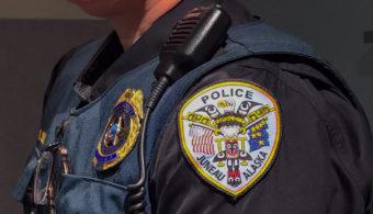Juneau Police Department badge logo