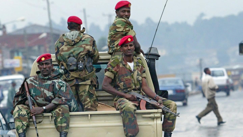 Ethiopian Soldier