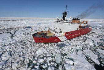 Coast Guard Cutter Healy July 13, 2015