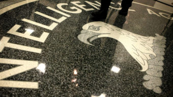 The seal of the Central Intelligence Agency at the lobby of the Original Headquarters Building at the CIA headquarters in McLean, Va. Alex Wong/Getty Images
