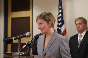 Jahna Lindemuth was named Alaska's attorney general by Gov. Bill Walker. (Photo by Graelyn Brashear/Alaska Public Media)