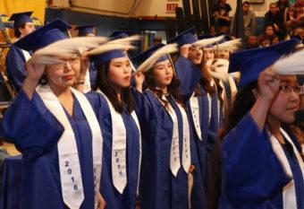 Bethel Regional High School graduation 2016