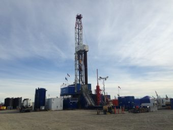 Exploration well Tolsona No. 1 is located about 11 miles west of Glennallen, Alaska