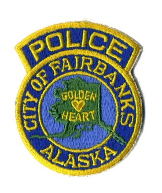 Fairbanks Police Patch