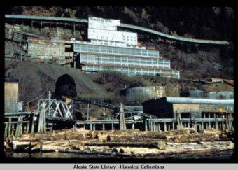 The AJ Mine in 1958.