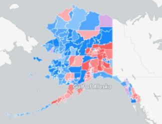 Interactive map shows how Alaska voted for president precinct by