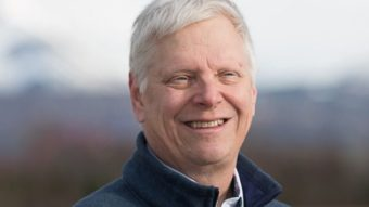Democrat Steve Lindbeck is challenging incumbent Republican Don Young for Alaska's lone seat in the U.S. House of Representatives. (Photo courtesy Lindbeck for Alaska)