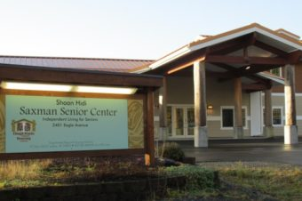The Saxman Senior Center, new home to Ketchikan Senior Services.