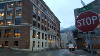The Alaska State Capitol in downtown Juneau is open for business on Tuesday morning, Jan. 17, 2017, the opening day of the 30th Alaska Legislature.