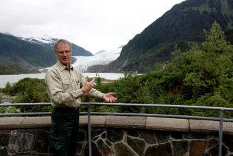 John Neary Mendenhall Glacier (Photo by Elizabeth Jenkins/KTOO)