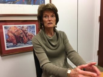 U.S. Sen. Lisa Murkowski, R-Alaska, wants to slow the repeal of the Affordable Care Act. (Photo by Liz Ruskin/APRN)