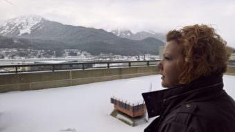 Victoria Schoenheit at SOB with snow
