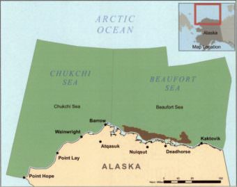 Map of Obama Arctic withdrawal area. (Map by Bureau of Ocean Energy Management)