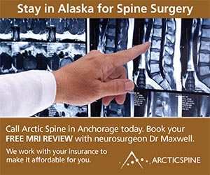 Stay in Alaska for spine surgery. ArcticSpine