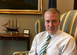 U.S. Sen. Dan Sullivan, in his Washington, D.C. office.