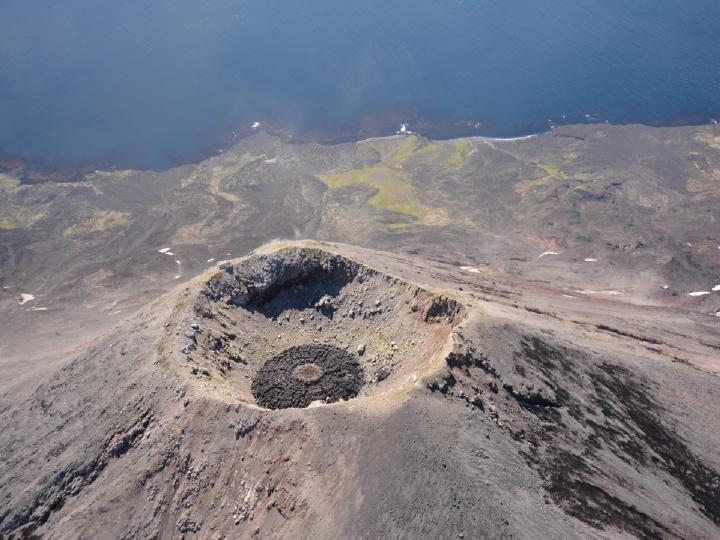New Lava Dome Develops At Cleveland Volcano