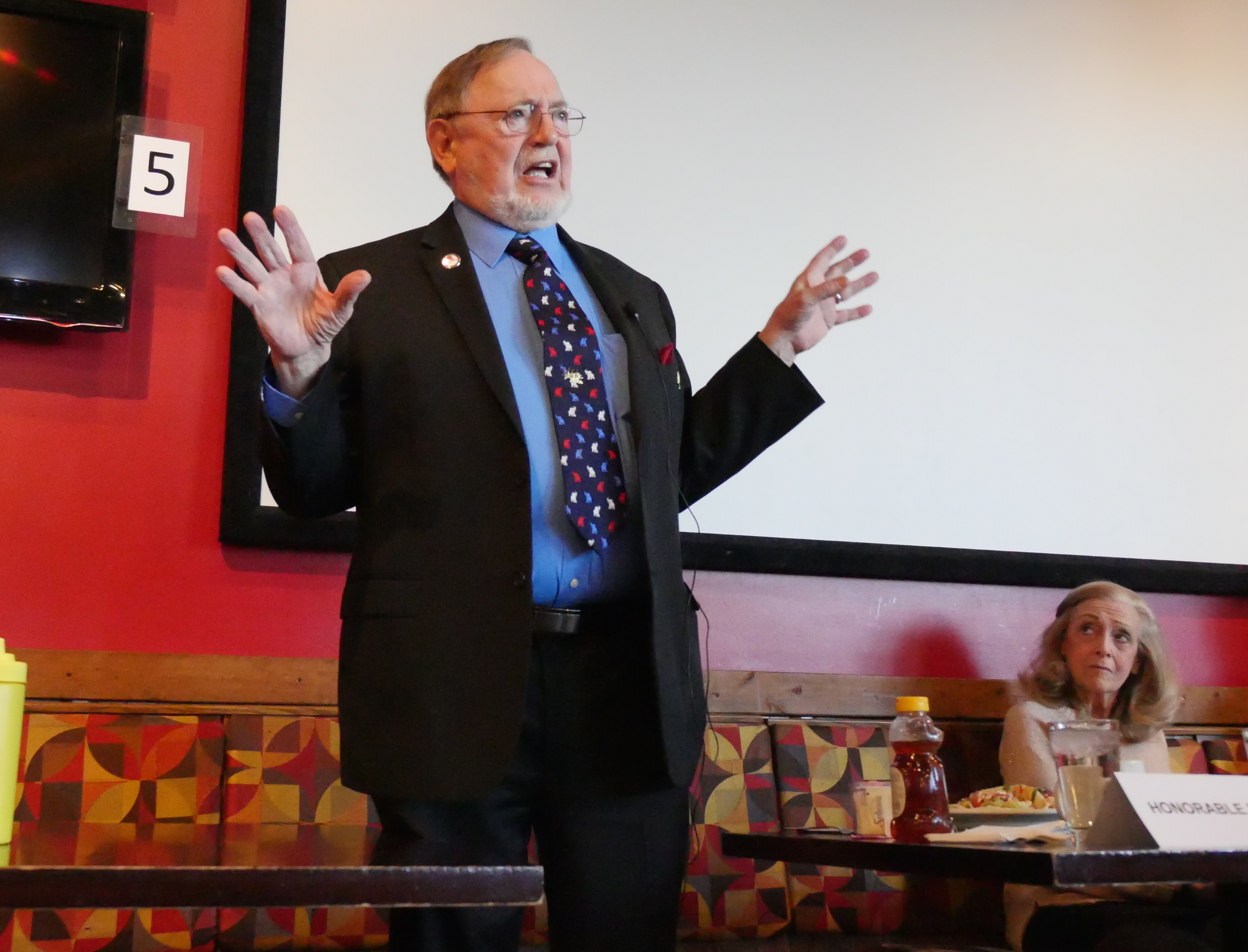 "Congressman Don Young said Republicans ""were unprepared"" to move a health care bill. (Photo by Vik Patel/Alaska Public Media)"