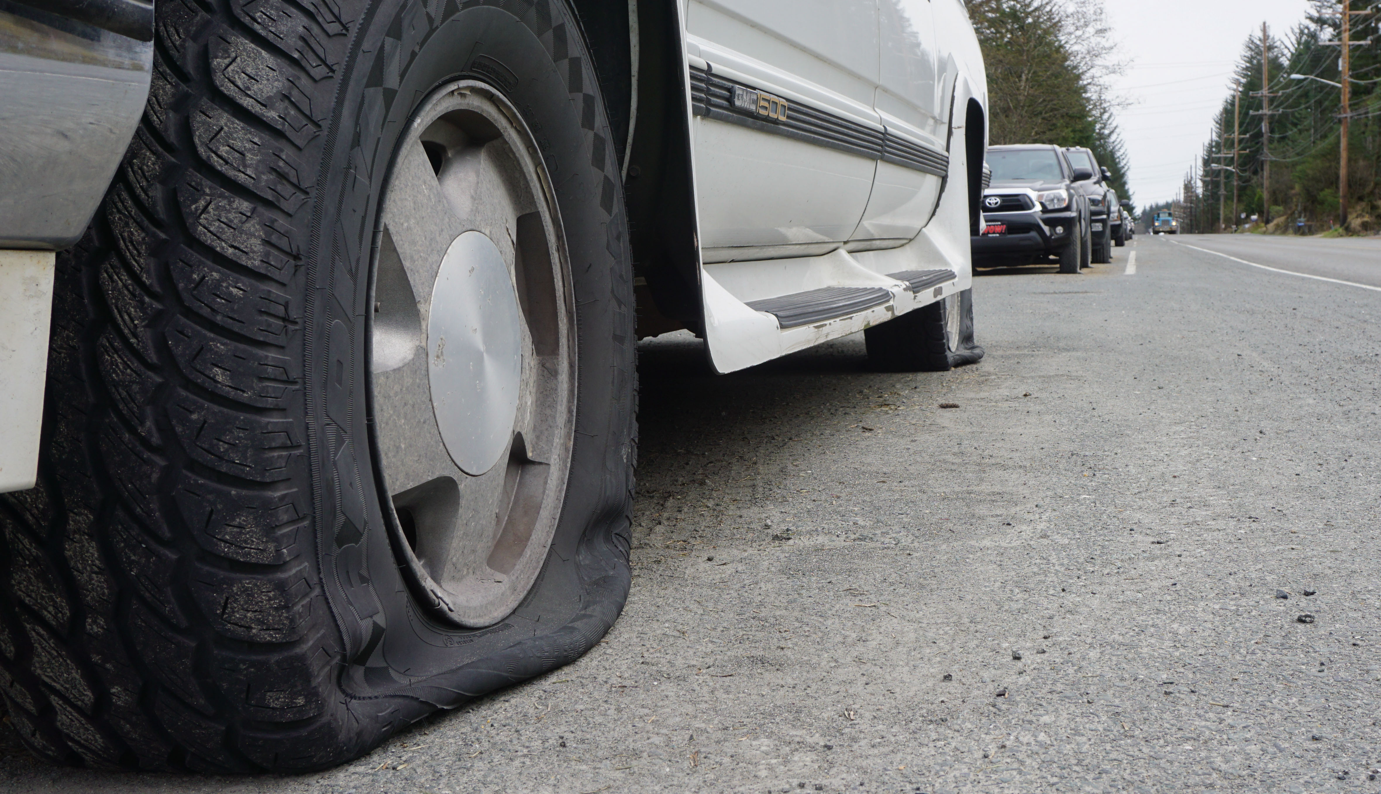 Residents Uneasy Over Mass Tire Slashing In Douglas And West Juneau
