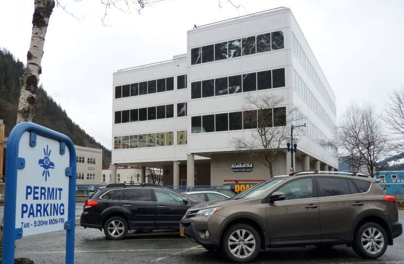 The Sealaska Heritage Institute plans to turn this downtown Juneau parking lot into a Native artists' park and market.