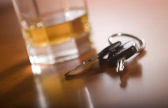 A drink and car keys
