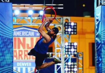 Bethel's Nate Dehaan will compete on American Ninja Warrior tonight. Tune in at 7 p.m. Monday, July 17, on NBC. (Photo courtesy NBC)