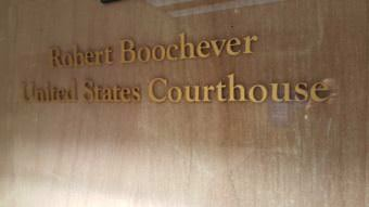 Robert Boochever United States Courthouse is the federal courthouse in Juneau. Taken Aug. 24, 2017. (Photo by Tripp J Crouse/KTOO)