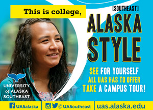 This is college, (southeast) Alaska style. See for yourself all UAS has to offer - take a campus tour!