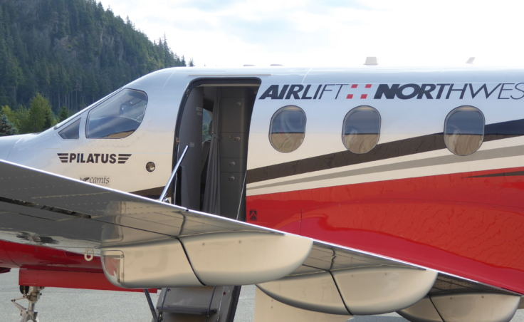 Airlift Northwest's pilatus aircraft