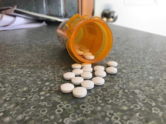 Medical professionals prescribing controlled substances in Alaska are now required to provide hard numbers. (Photo by Aaron Bolton/KBBI)