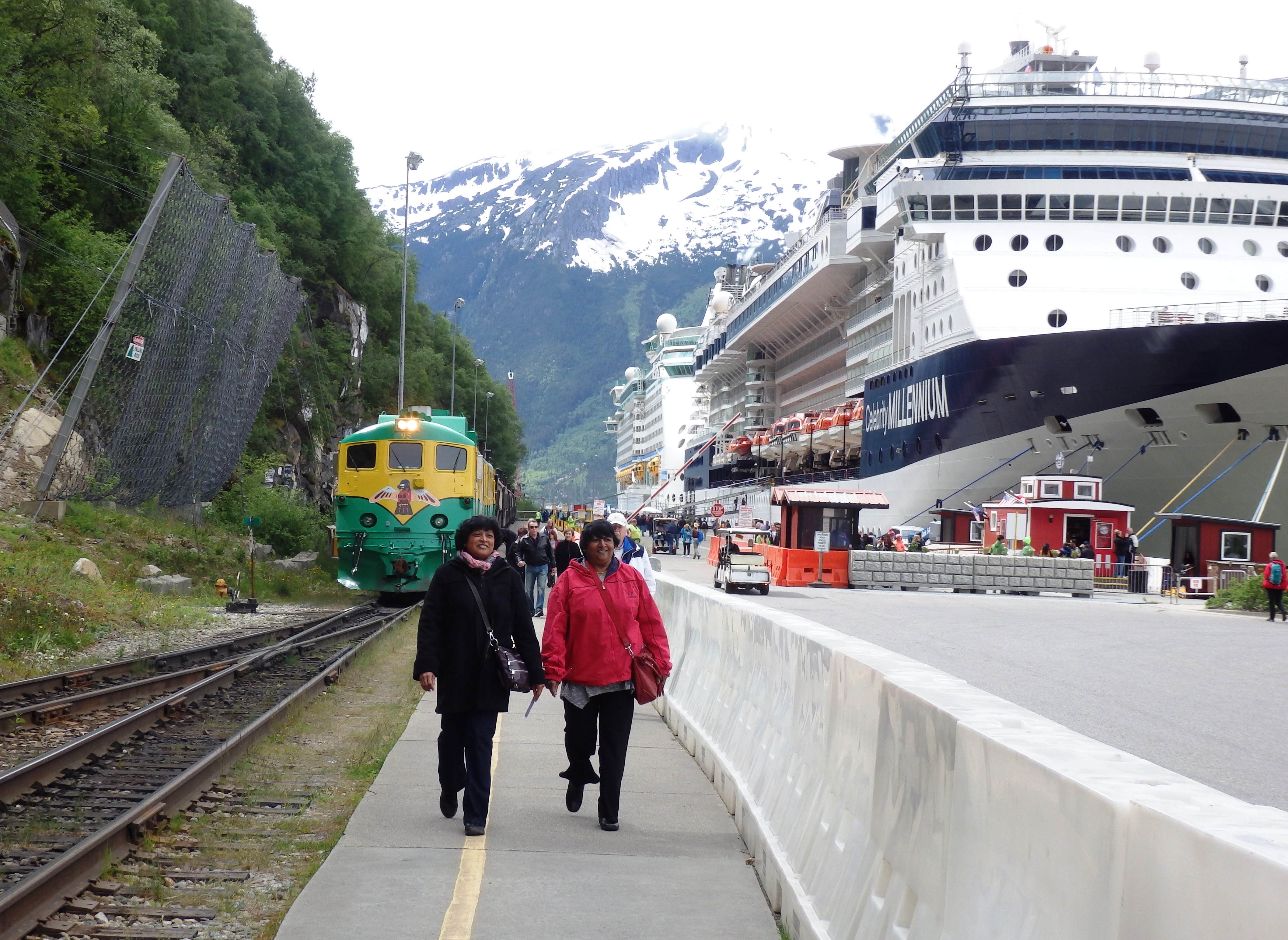 rockslide draws attention to potential hazard looming over skagway