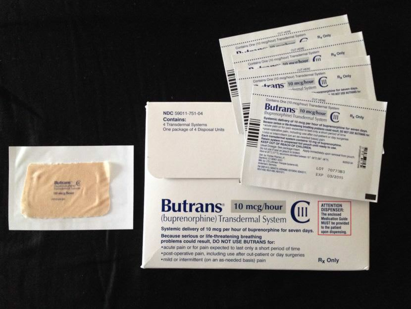 BuTrans is a skin patch that delivers buprenorphine. The drug treats opioid addiction and pain.