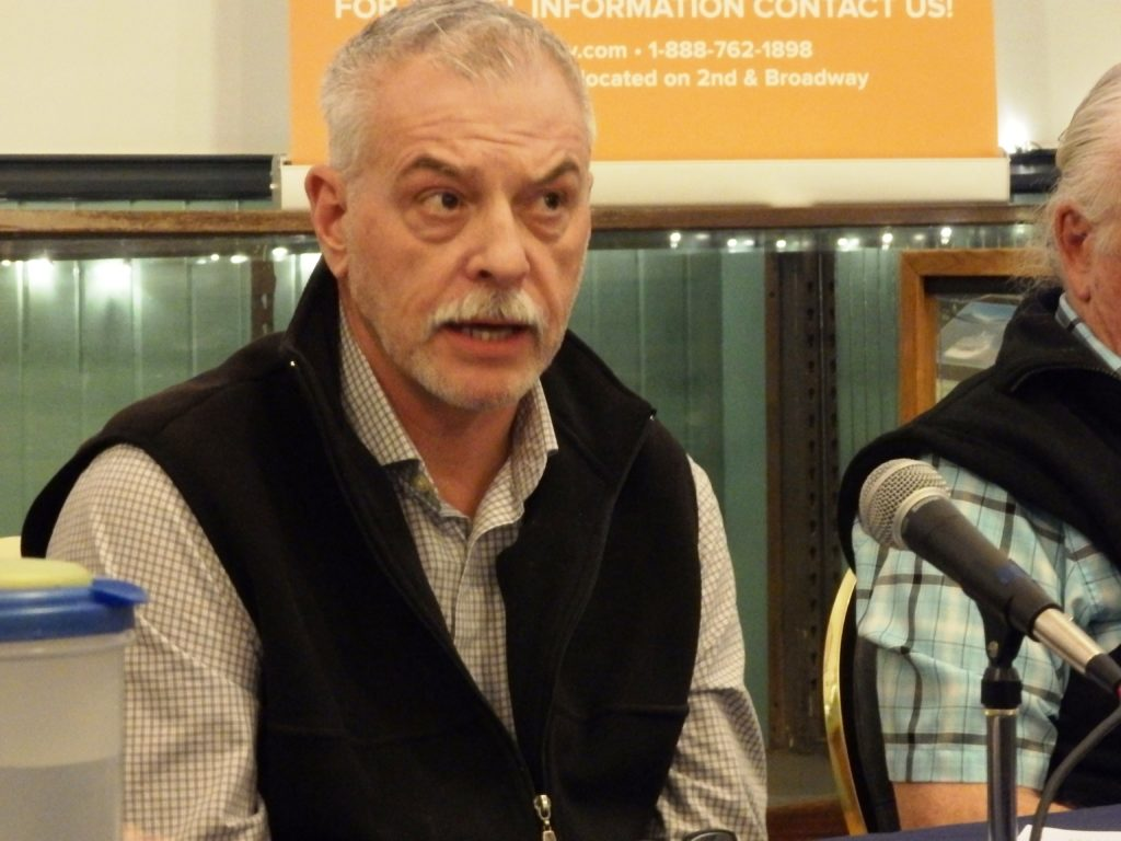 Dan Henry won the race for the second assembly seat by just five votes. (Photo by Emily Files/KHNS)