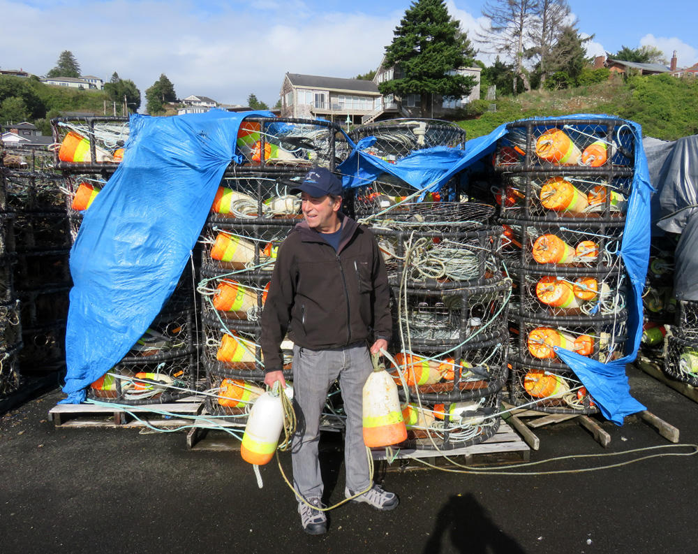 Commercial crab fisherman Bob Eder of Newport, Oregon is part of a whale entanglement working group. (Photo by Tom Banse/Northwest News Network)