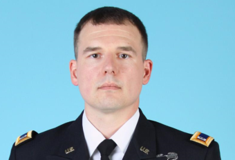 U.S. Army Chief Warrant Officer Jacob M. Sims, 36, died in a helicopter crash in Afghanistan on Friday, Oct. 27, 2017. (Photo courtesy U.S. Department of Defense)
