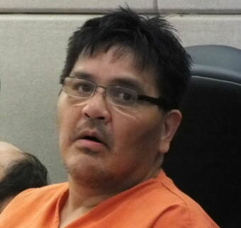 David V. Evenson, 51, appears in Juneau District Court on July 10, 2017 on charges of manslaughter, criminally negligent homicide, and second-degree murder