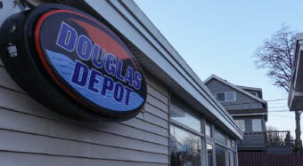 The Douglas Depot store, pictured here on Dec. 18, 2017, was a convenience store that closed in 2014.