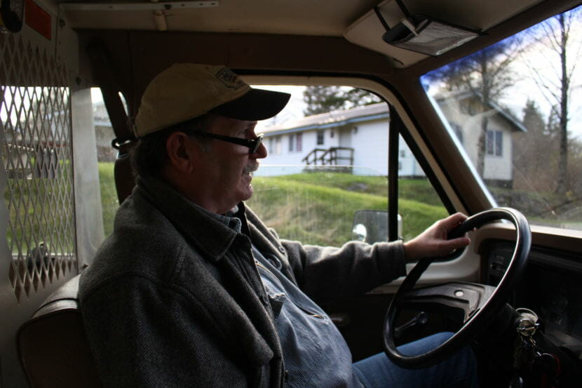 Dennis Watson. Craig's former mayor (Photo by Elizabeth Jenkins/Alaska's Energy Desk) 12/05/17