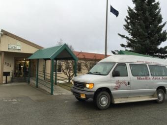 Wasilla Area Seniors provides a senior center, transportation, housing, and other services in the Mat Su Valley. (Photo by Anne Hillman/Alaska Public Media)