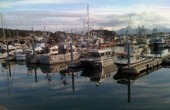 Fishing boats in Kodiak. (Photo by James Brooks/KMXT)