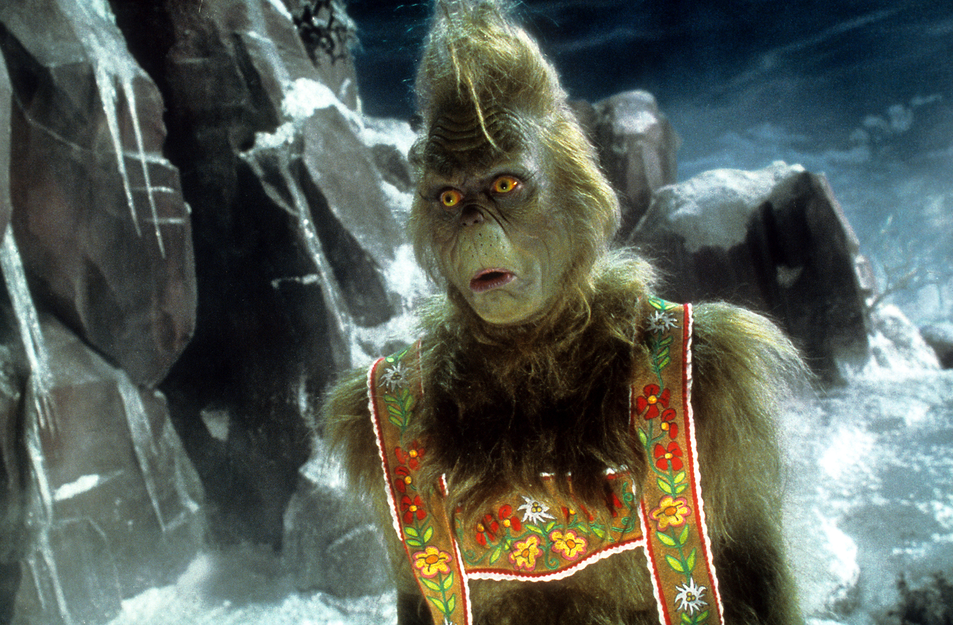 jim carrey stars as the title character the 2000 version of how the grinch stole christmas - How The Grinch Stole Christmas Jim Carrey