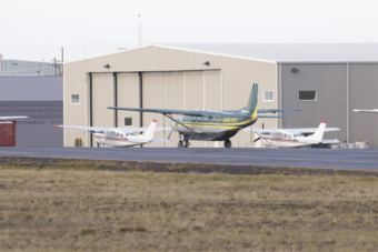 Ravn Air's terminal in Bethel. Ravn employees at the Anchorage airport are accused of stealing mail bound for rural Alaskan communities. (Photo by Dean Swope/KYUK)