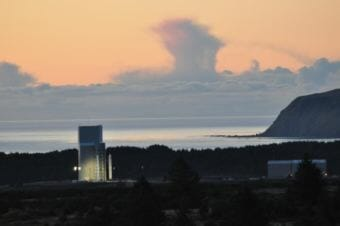 Alaska Aerospace Corporation launch facility in Narrow Cape. (Photo courtesy of Alaska Aerospace Corporation)